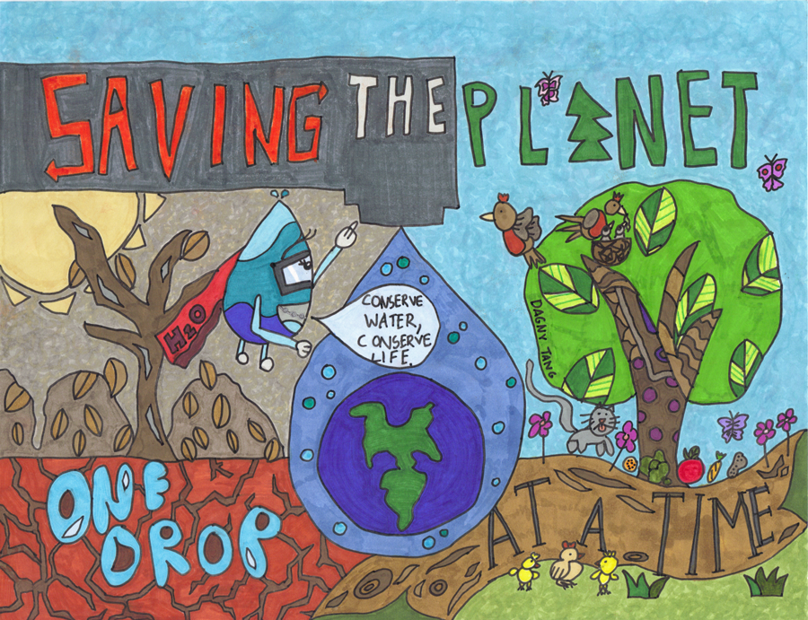 First Place Winner, Elementary School Category: Dagny Tang