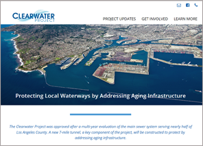 New Clearwater Project Website