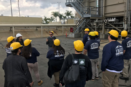WINTER Youth Builders Tour Joint Water Pollution Control Plant
